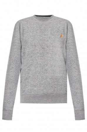 Logo-printed sweatshirt od Golden Goose