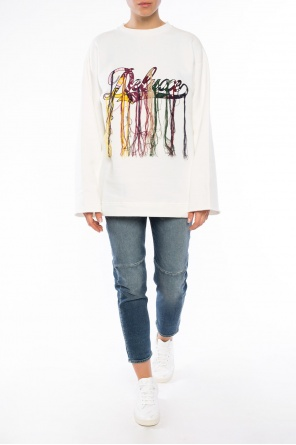 Sweatshirt with threads od Golden Goose