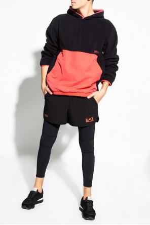 Fleece hoodie with logo od ADIDAS Originals
