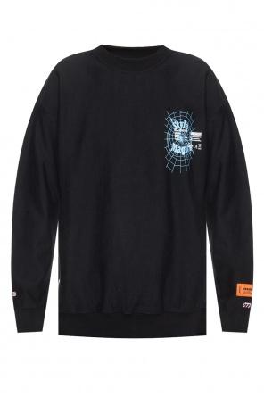 2a07d0fe ... Logo-printed sweatshirt od Heron Preston