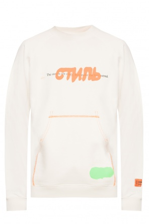 Sweatshirt with logo od Heron Preston