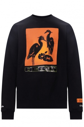 Branded sweatshirt od Heron Preston