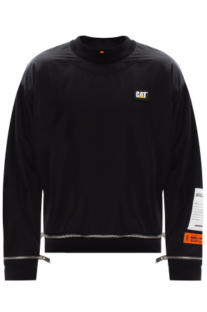 Sweatshirt with detachable layer od Heron Preston
