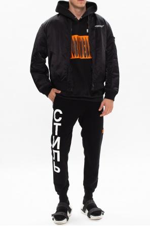 Printed hoodie od Heron Preston