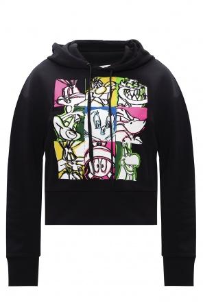 Embroidered hoodie od Iceberg