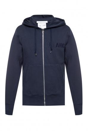Logo hoodie od Helmut Lang