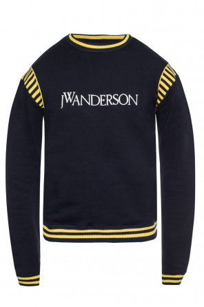 Logo-embroidered sweatshirt od J.W. Anderson
