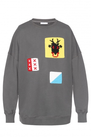 Embroidered oversize sweatshirt od J.W. Anderson