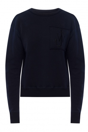 Logo-patched sweatshirt od J.W. Anderson