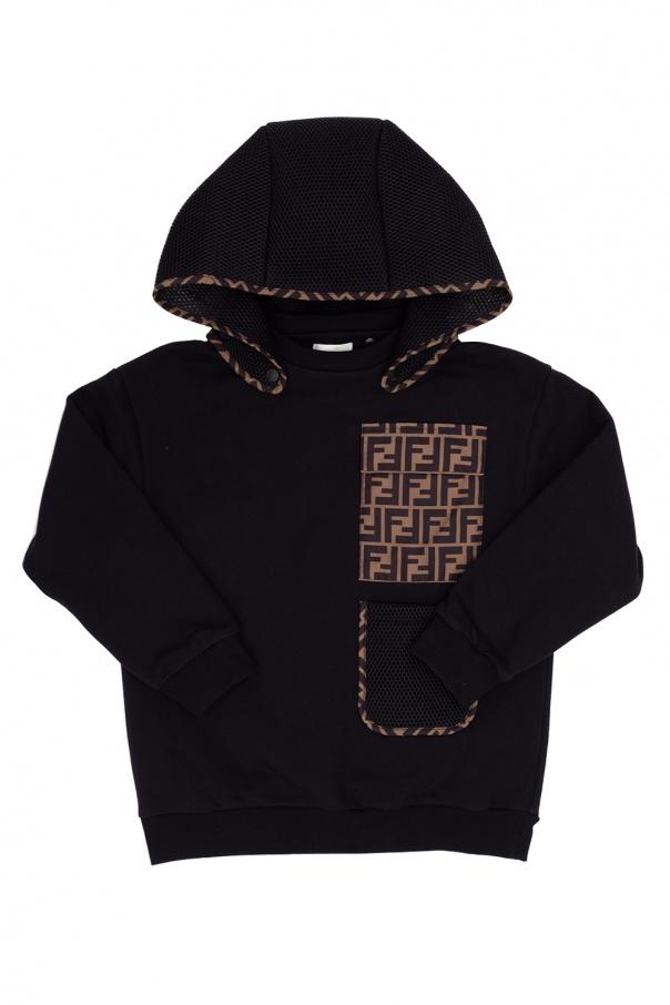 Fendi Kids Sweatshirt with detachable hood