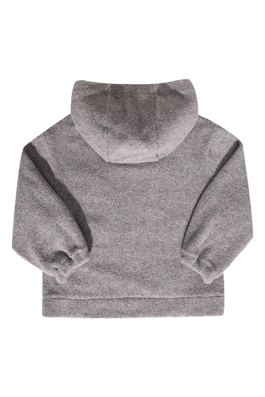 Fendi Kids Fleece hoodie with logo