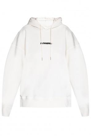 Logo-printed hoodie od JIL SANDER+