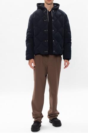 Cotton hoodie od JIL SANDER