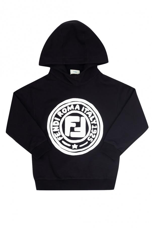 Fendi Kids Logo hoodie