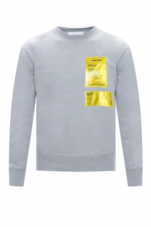 Sweatshirt with logo od Helmut Lang