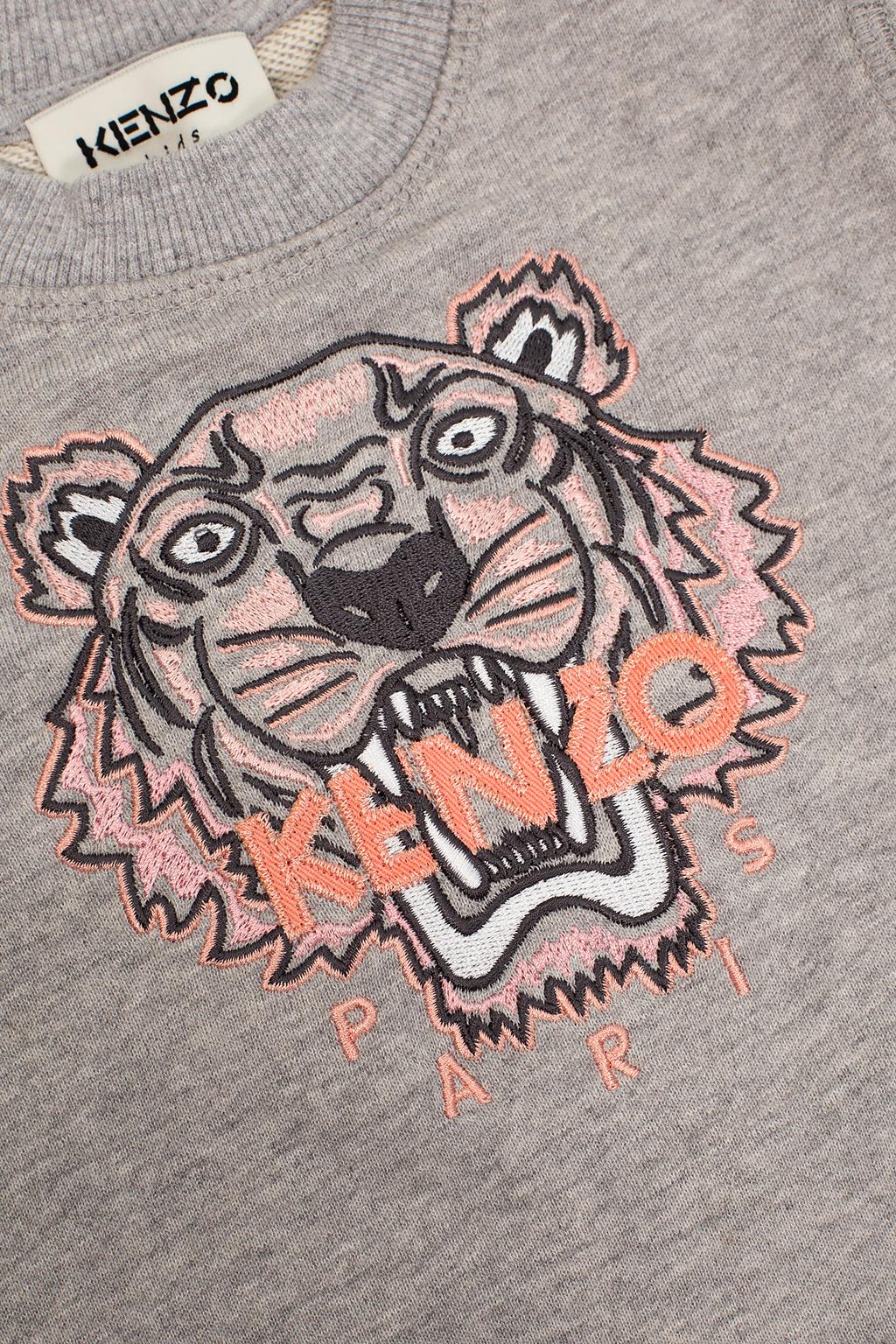Kenzo Kids 虎头样式运动衫