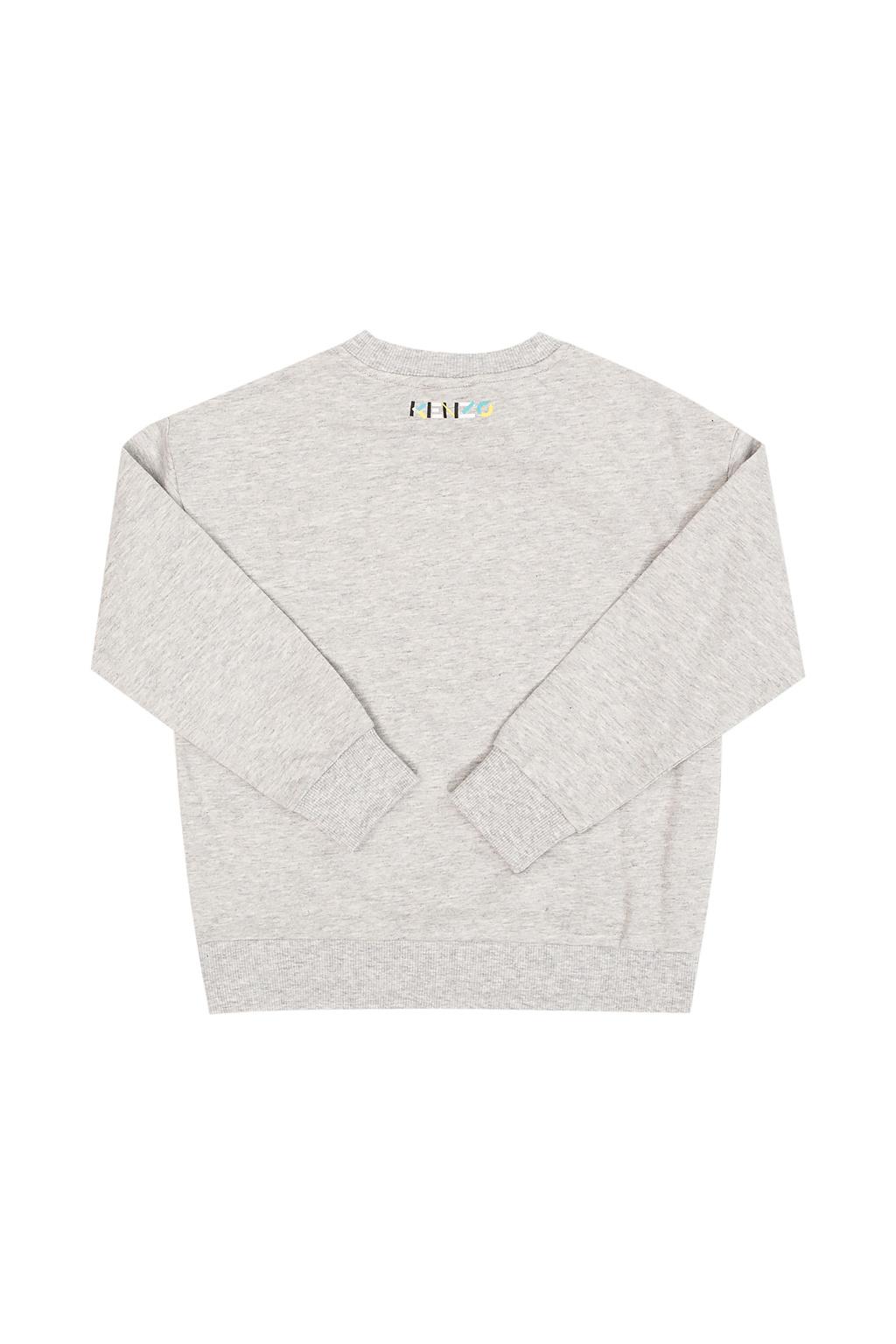 Kenzo Kids Logo-printed sweatshirt