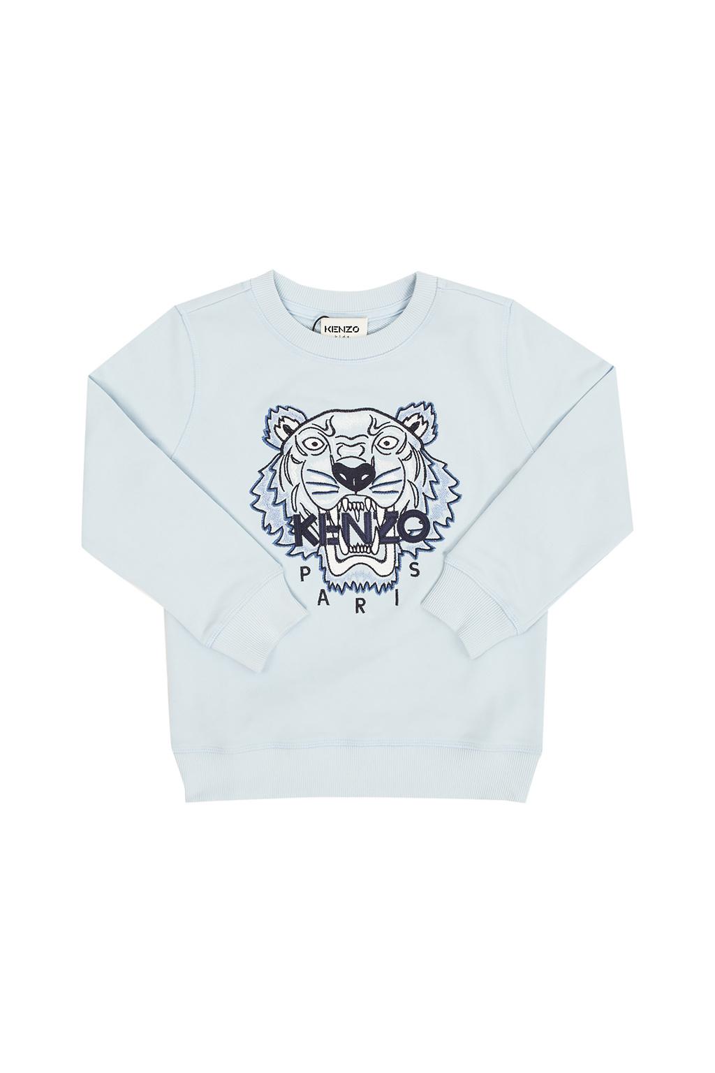 Kenzo Kids Sweatshirt with tiger head