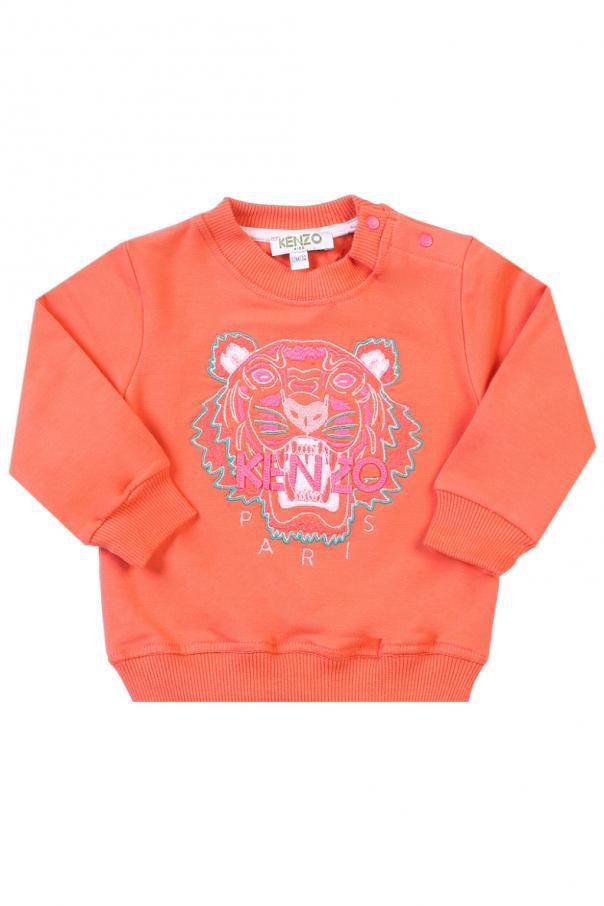 6948358b Tiger head-embroidered sweatshirt Kenzo Kids - Vitkac shop online