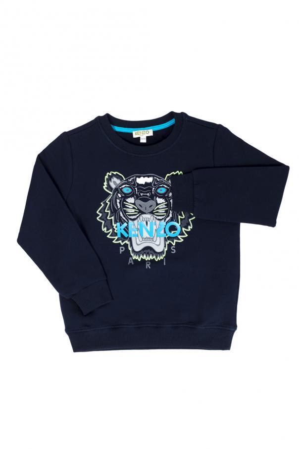 d3194e534a90 Printed tiger head sweatshirt Kenzo Kids - Vitkac shop online