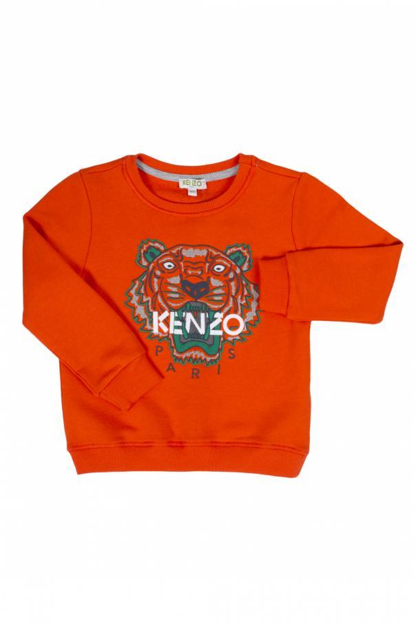 69b5bd5d Embroidered tiger head sweatshirt Kenzo Kids - Vitkac shop online