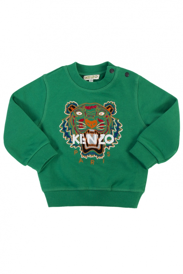 329bc93a9 Tiger head-embroidered sweatshirt Kenzo Kids - Vitkac shop online