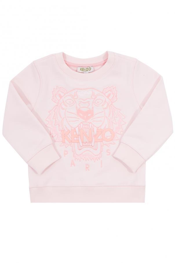 3628ae56a Sweatshirt with an embroidered tiger head Kenzo Kids - Vitkac shop ...