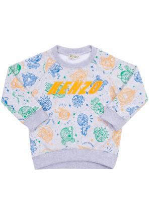 Patterned sweatshirt od Kenzo Kids