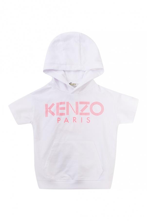 Kenzo Kids Logo hoodie
