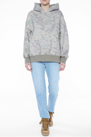 Oversize patterned hooded sweatshirt od Yeezy
