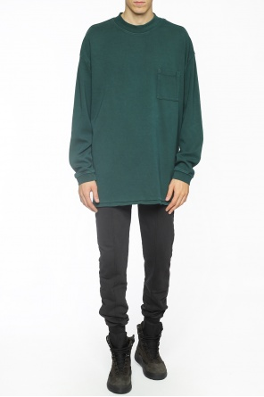 Oversize sweatshirt with pocket od Yeezy