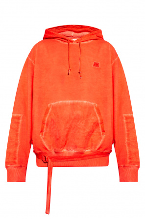 Logo-embroidered hoodie od Helmut Lang