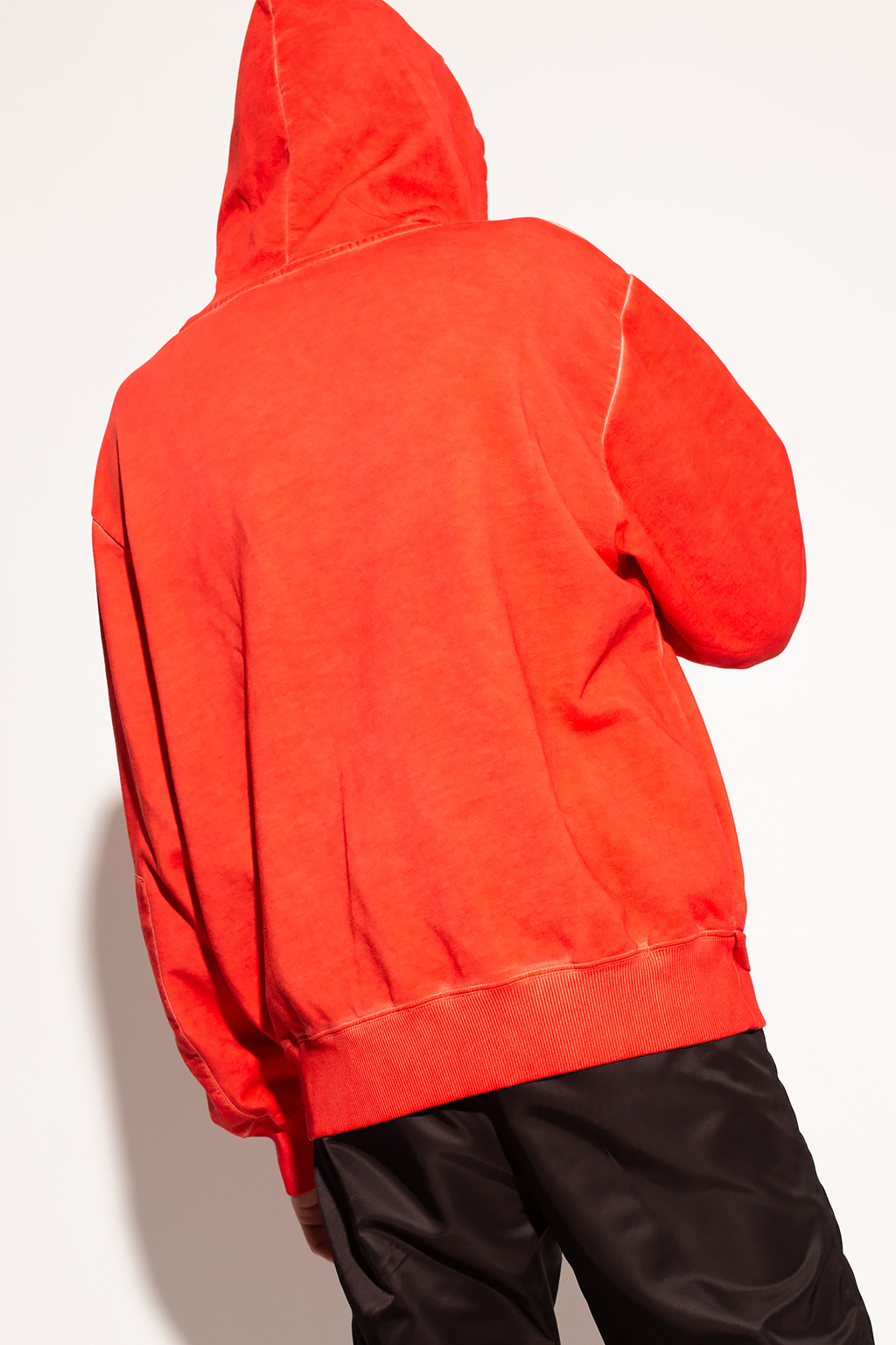 Helmut Lang Logo-embroidered hoodie