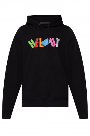 Hoodie with logo od Helmut Lang