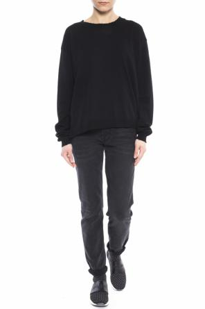 Raw-trimmed sweater od Acne