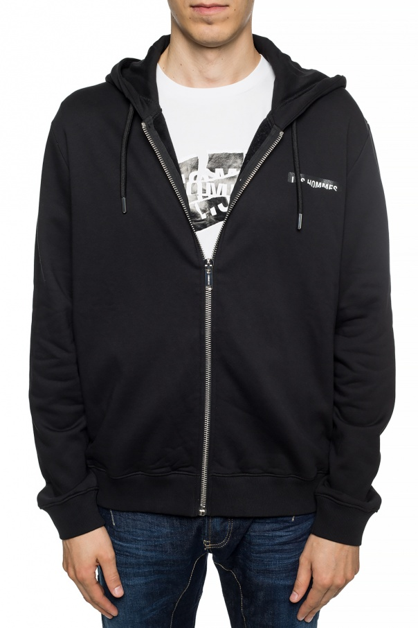 Branded sweatshirt od Les Hommes