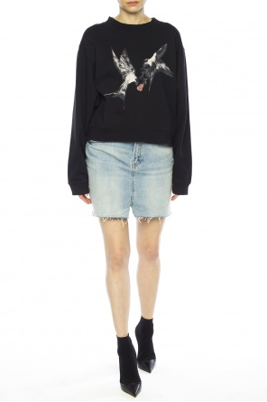 'lovers' printed sweatshirt od AllSaints