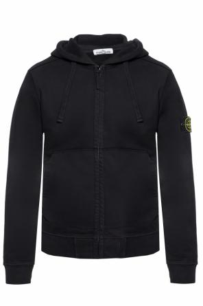 Sweatshirt with a logo application od Stone Island