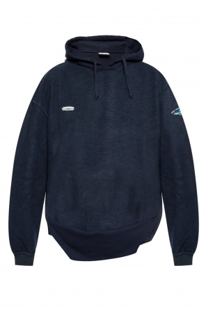 Branded hooded sweatshirt od Vetements