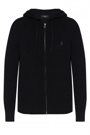 Sweatshirt with embroidered logo od AllSaints