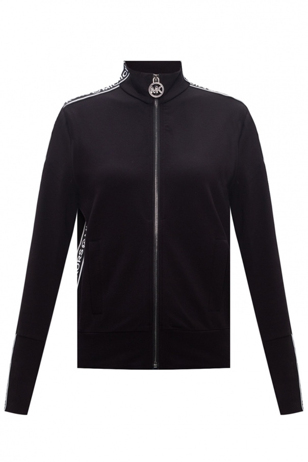 Michael Michael Kors Track jacket with stand-up collar