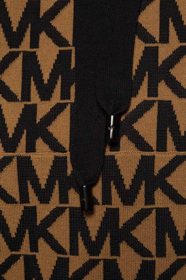 Hooded patterned sweatshirt od Michael Kors