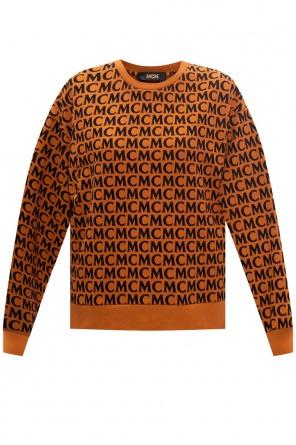 Sweatshirt with logo od MCM