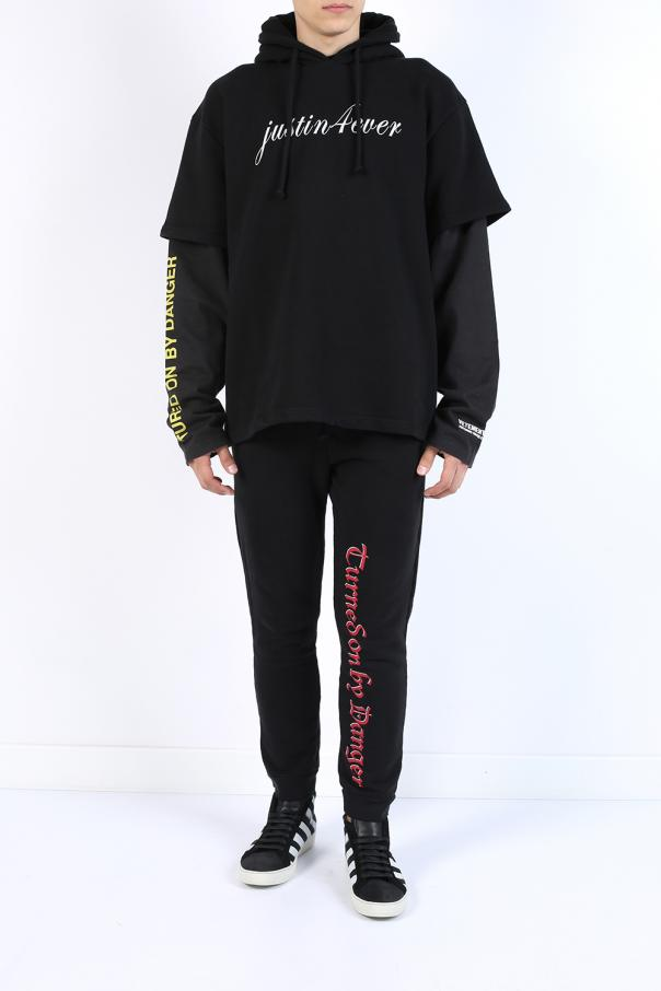 Bluza typu 'oversized' z kapturem od Vetements