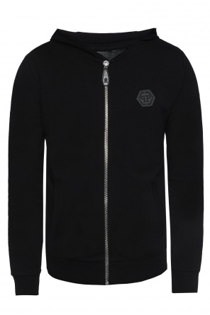 Sweatshirt with encrusted skull od Philipp Plein