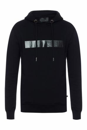 Sweatshirt with logo insert od Philipp Plein