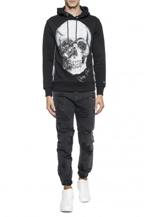 'door' hooded sweatshirt od Philipp Plein