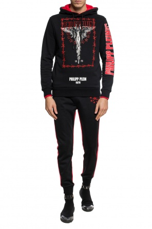 Patched sweatshirt od Philipp Plein