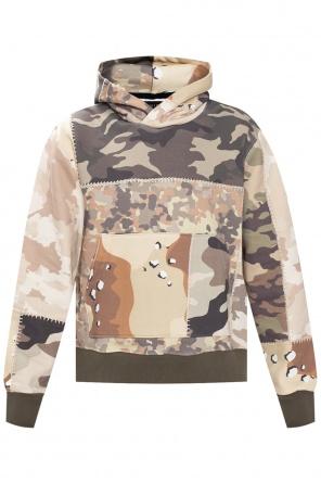 Patterned hoodie od Amiri
