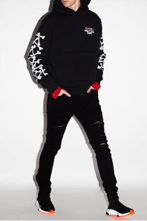 Branded hoodie od Amiri
